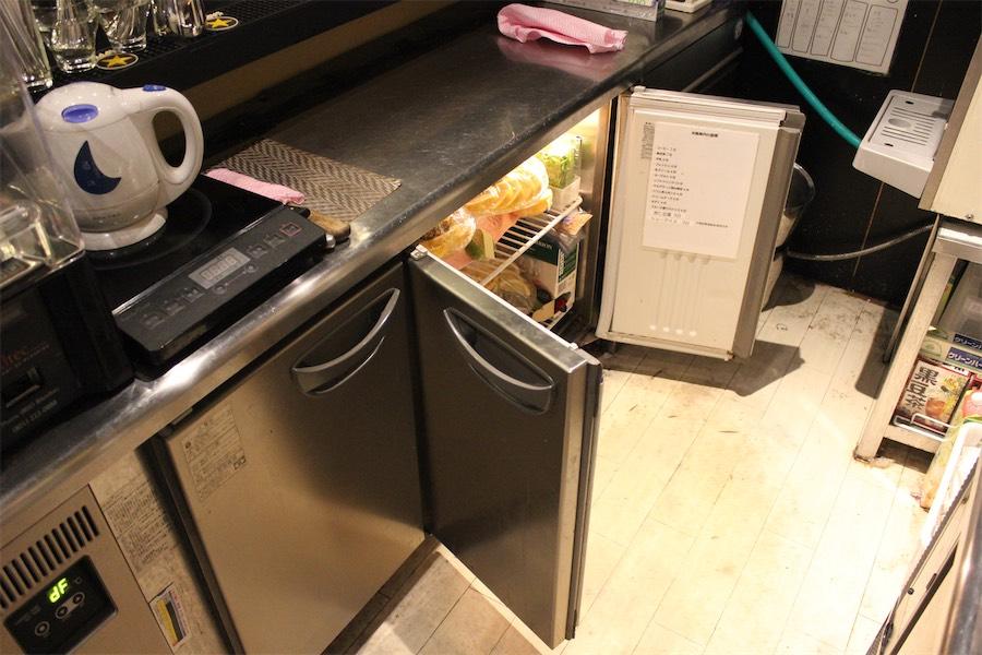 1F冷蔵庫